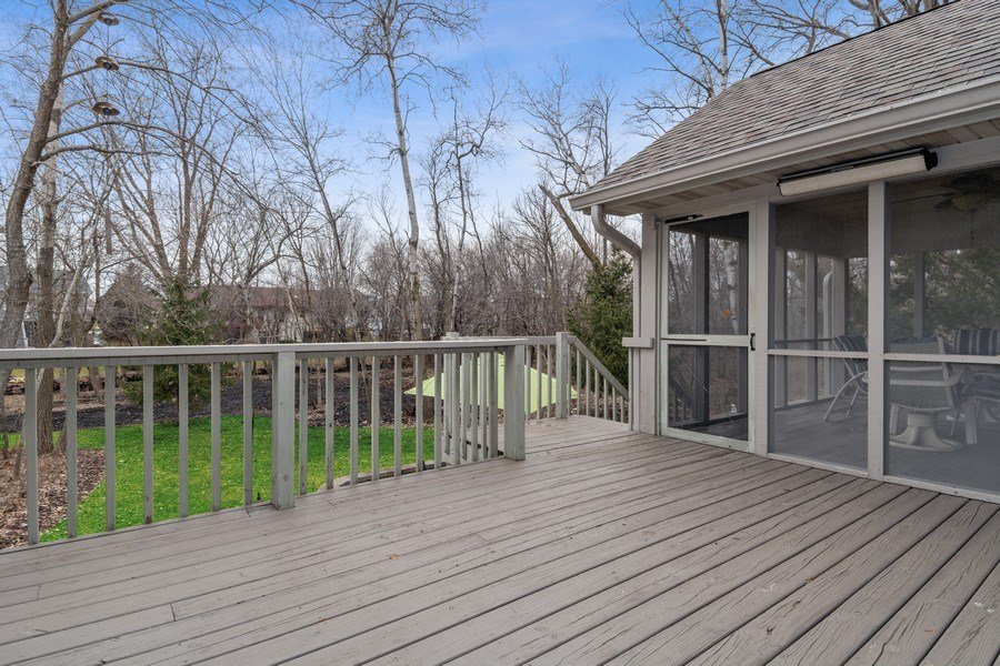 Real Estate Photography - 441 Clearbrooke Ter, Cottage Grove, WI, 53527 - Balcony