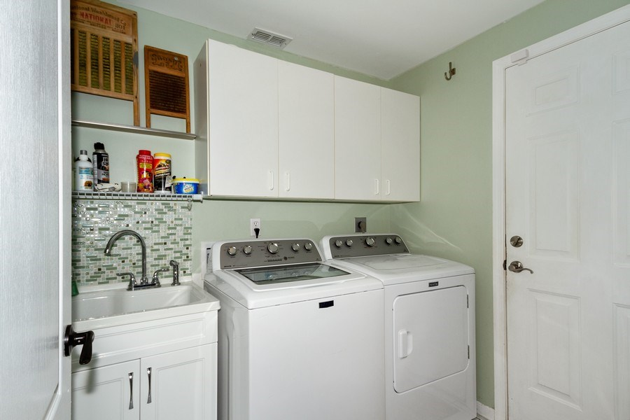 Real Estate Photography - 20841 Country Barn Dr, Estero, FL, 33928 - Laundry Room