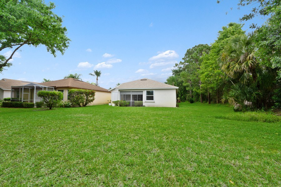 Real Estate Photography - 20841 Country Barn Dr, Estero, FL, 33928 - Rear View