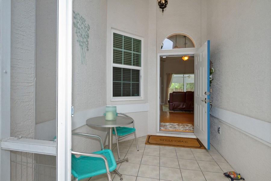 Real Estate Photography - 20841 Country Barn Dr, Estero, FL, 33928 - Porch