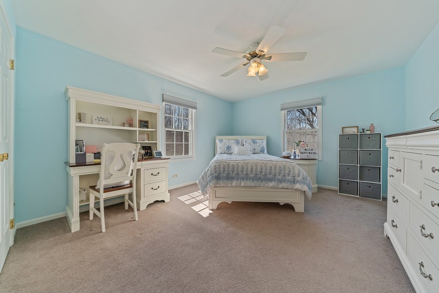 Real Estate Photography - 9 Ashbury Ln, Barrington Hills, IL, 60010 - 2nd Bedroom