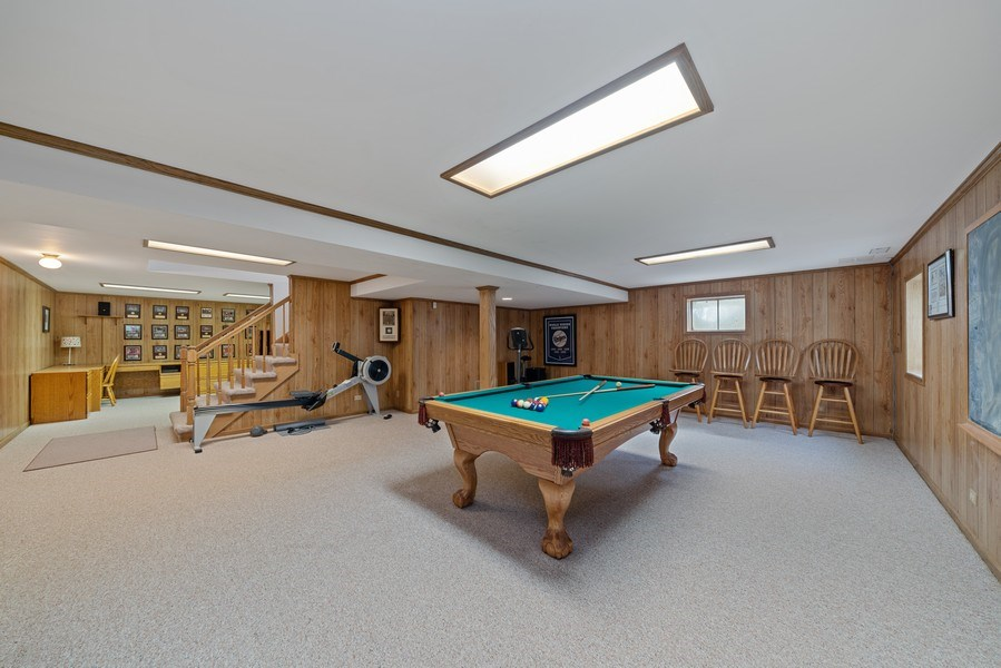 Real Estate Photography - 9 Ashbury Ln, Barrington Hills, IL, 60010 - Recreational Room