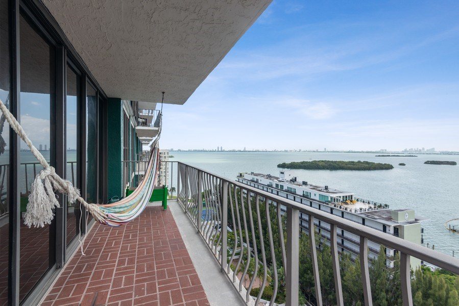 Real Estate Photography - 780 NE 69th St, 1509, Miami, FL, 33138 - Terrace