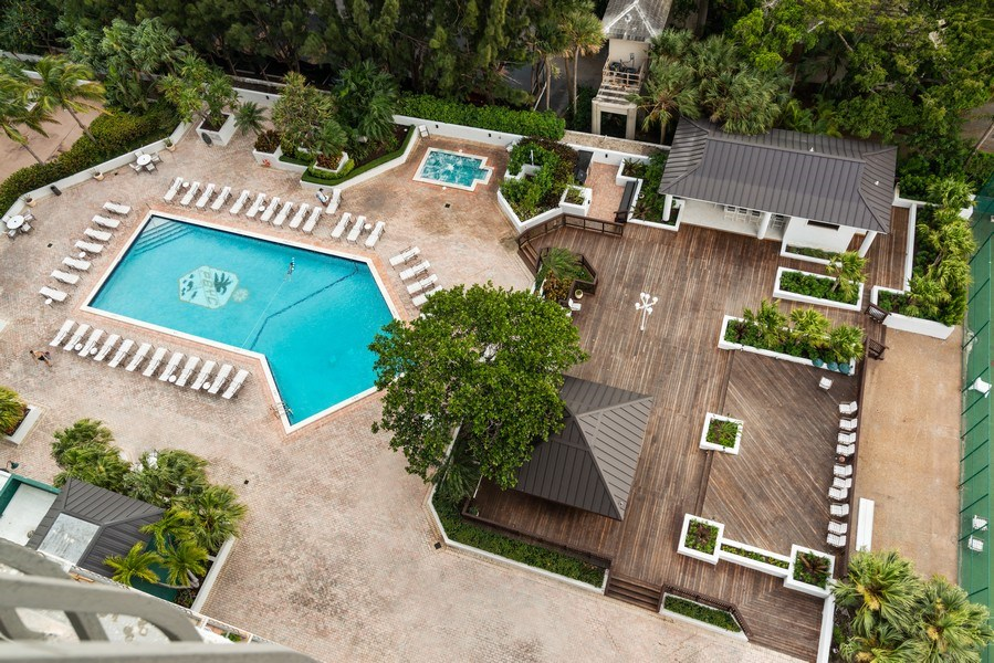 Real Estate Photography - 780 NE 69th St, 1509, Miami, FL, 33138 - Pool