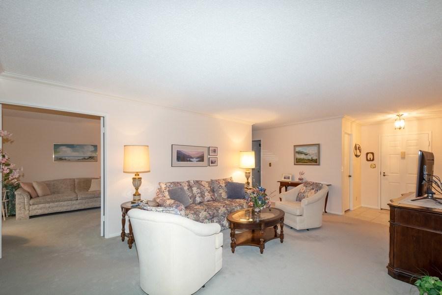 Real Estate Photography - 5904 Mount Eagle, Unit 1015, Alexandria, VA, 22303 - Living Room