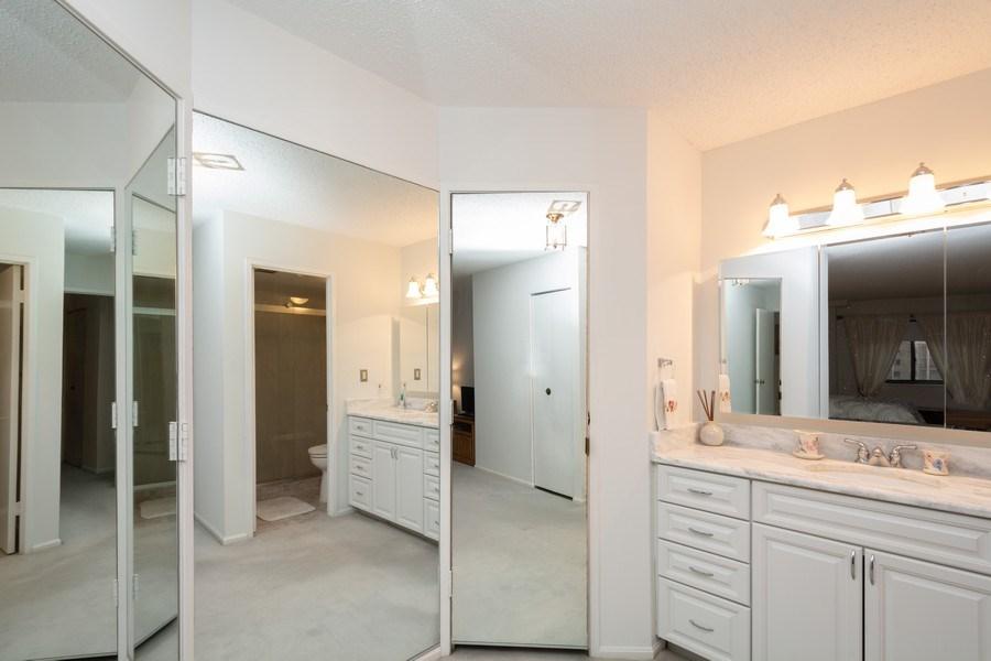Real Estate Photography - 5904 Mount Eagle, Unit 1015, Alexandria, VA, 22303 - Master Bathroom