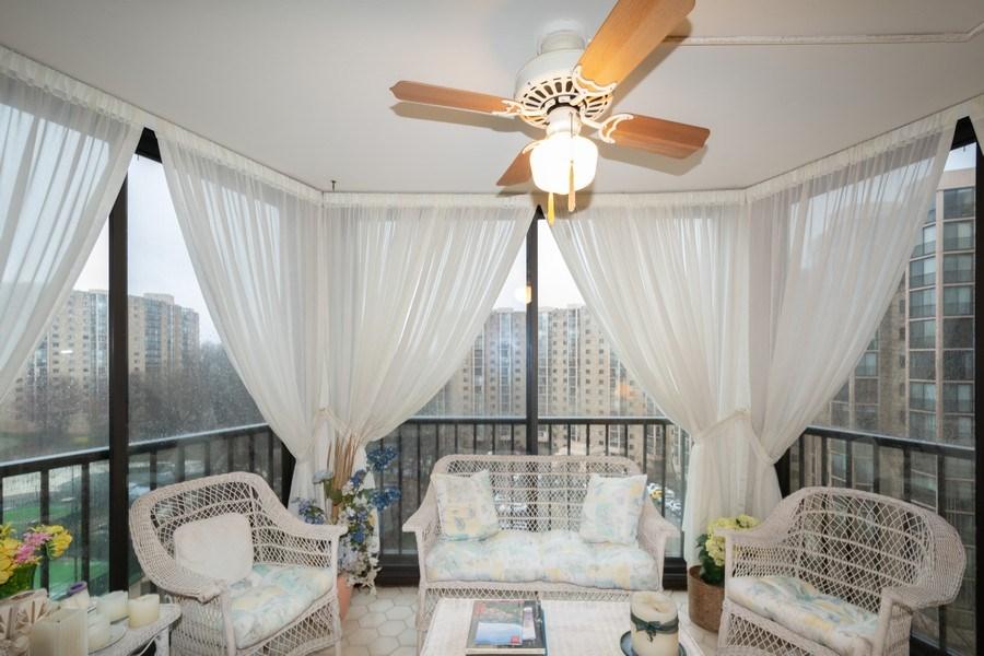 Real Estate Photography - 5904 Mount Eagle, Unit 1015, Alexandria, VA, 22303 - Balcony
