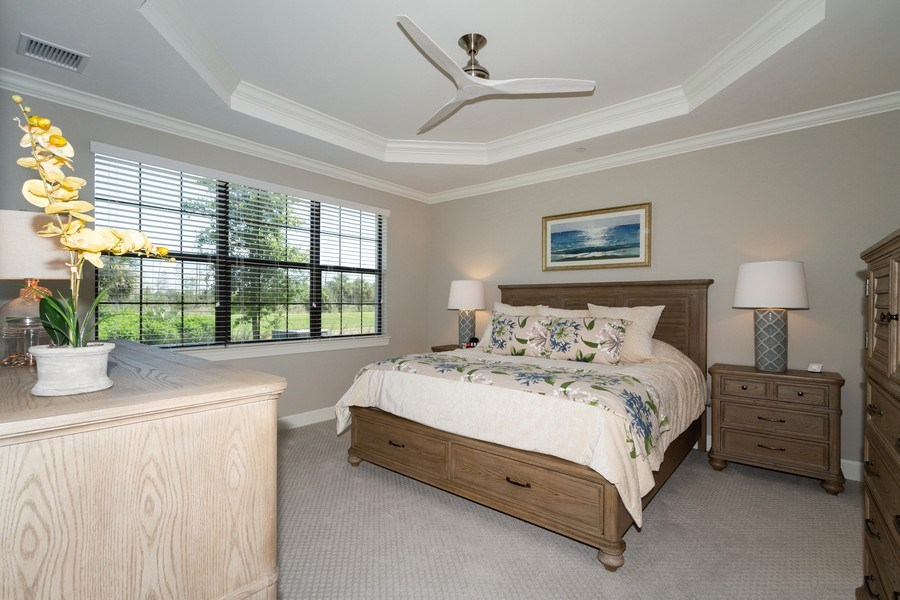 Real Estate Photography - 8777 Bellano Ct #101, Naples, FL, 34119 - Master Bedroom