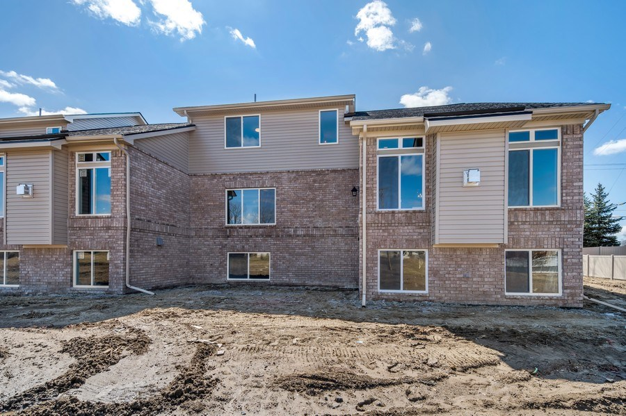 Real Estate Photography - 28190 Lyndon Street, Livonia, MI, 48154 - Rear View