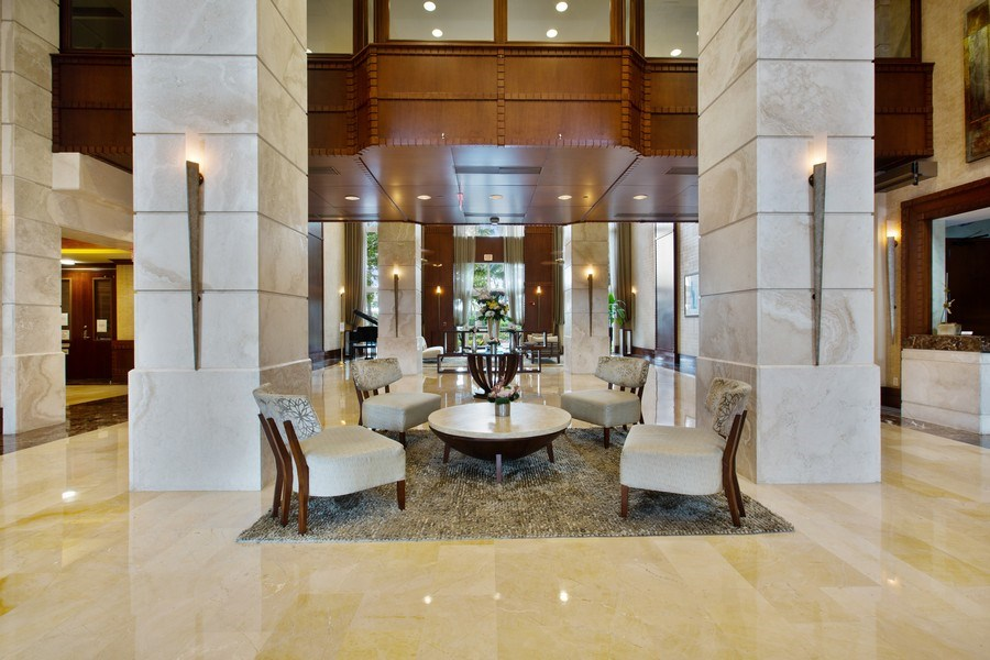 Real Estate Photography - 19501 W Country Club Dr, Unit 2102, Aventura, FL, 33180 - Main Lobby