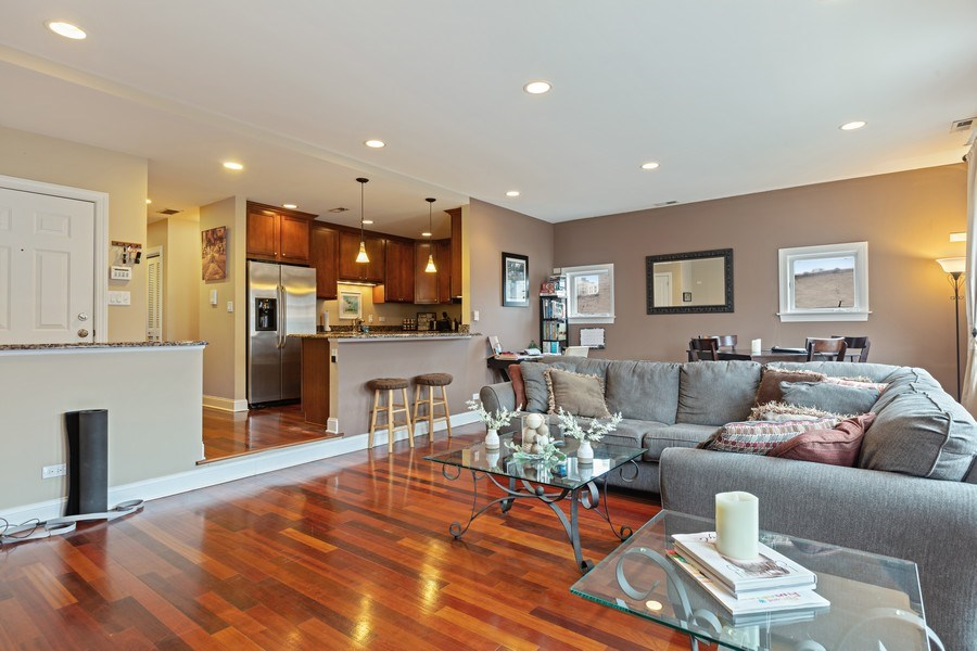 Real Estate Photography - 1275 N Clybourn, Unit 3, Chicago, IL, 60610 - Living Room