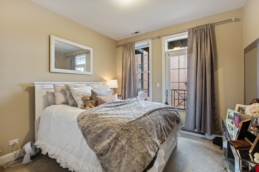 Real Estate Photography - 1275 N Clybourn, Unit 3, Chicago, IL, 60610 - Bedroom