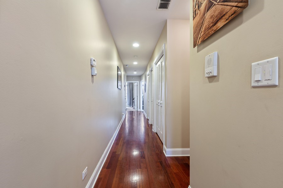 Real Estate Photography - 1275 N Clybourn, Unit 3, Chicago, IL, 60610 - Hallway