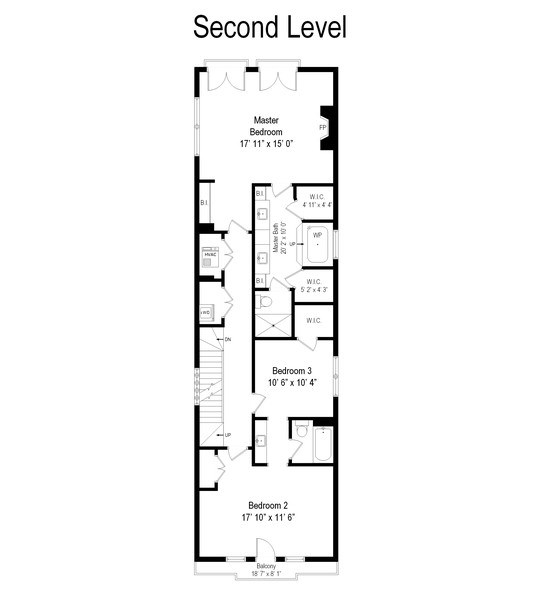 Real Estate Photography - 1927 N Oakley Ave, Chicago, IL, 60647 - Floor Plan