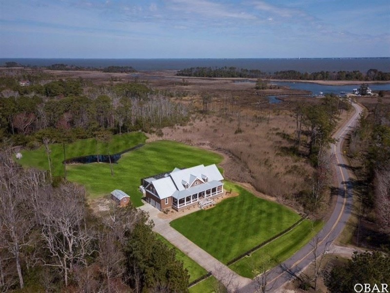 Real Estate Photography - 165 Hog Quarter Rd, Lot 10A, Powells Point, NC, 27966 -