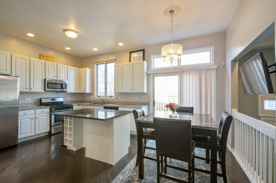 Real Estate Photography - 5506 N Kildare Ave, Chicago, IL, 60630 - Kitchen / Breakfast Room