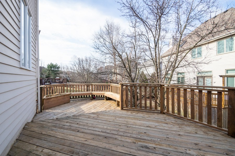 Real Estate Photography - 5506 N Kildare Ave, Chicago, IL, 60630 - Deck