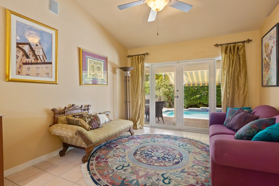 Real Estate Photography - 16550 SW 77 Ct., Palmetto By, FL, 33157 - Living Room