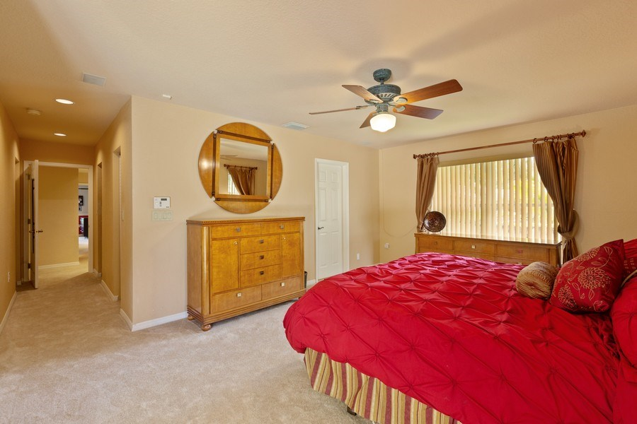 Real Estate Photography - 16550 SW 77 Ct., Palmetto By, FL, 33157 - Master Bedroom