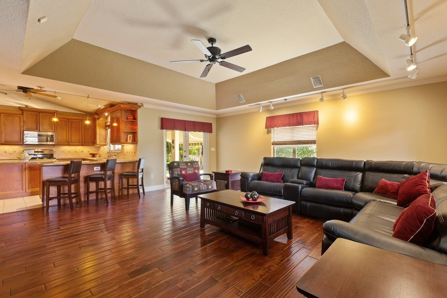 Real Estate Photography - 16550 SW 77 Ct., Palmetto By, FL, 33157 - Family Room
