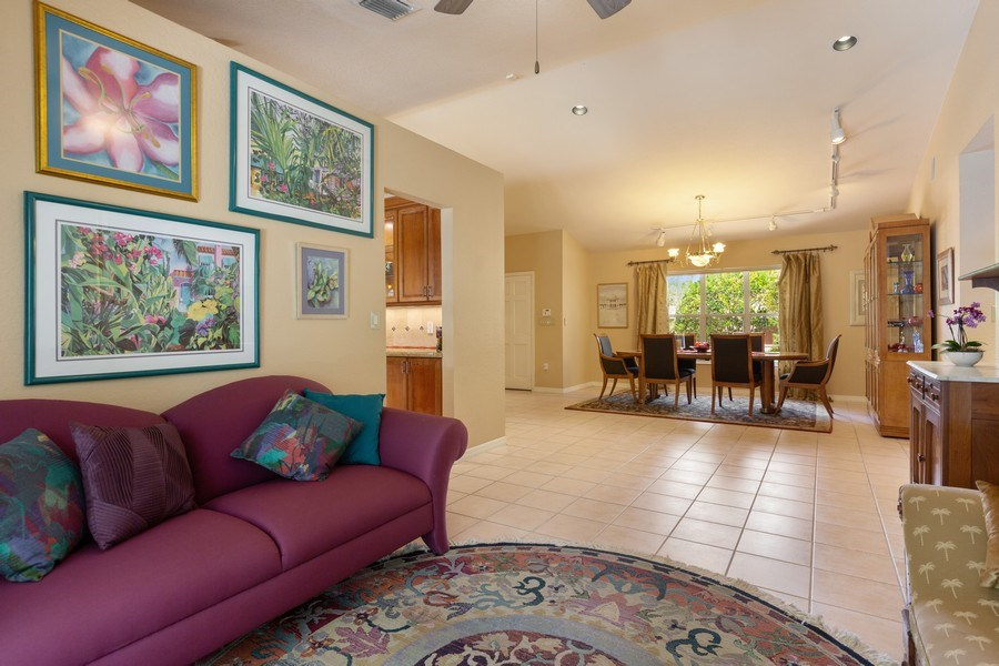 Real Estate Photography - 16550 SW 77 Ct., Palmetto By, FL, 33157 - Dining Room