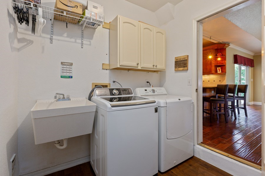 Real Estate Photography - 16550 SW 77 Ct., Palmetto By, FL, 33157 - Laundry Room