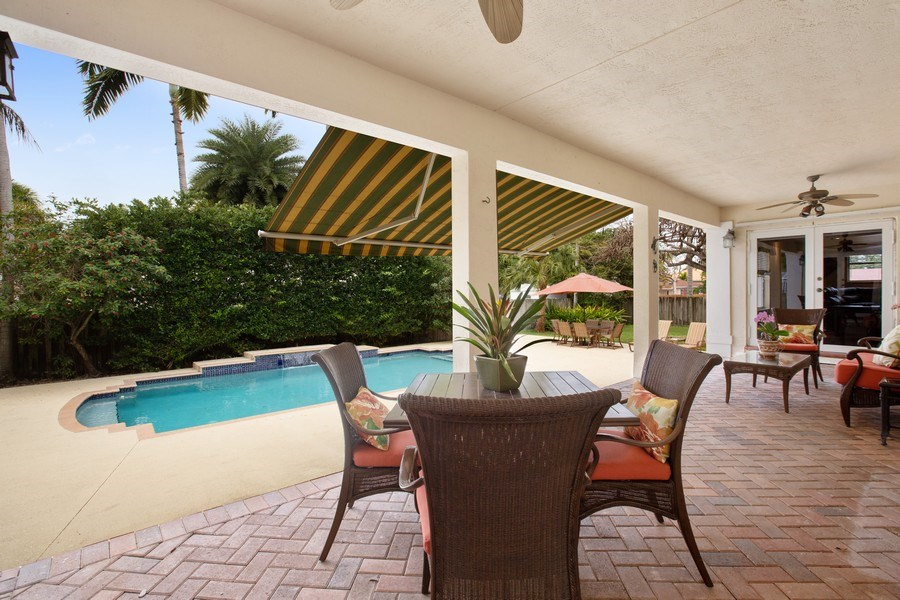 Real Estate Photography - 16550 SW 77 Ct., Palmetto By, FL, 33157 - Patio