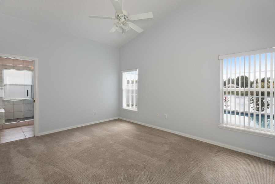 Real Estate Photography - 17407 woodcrest way, clermont, FL, 34714 - Master Bedroom