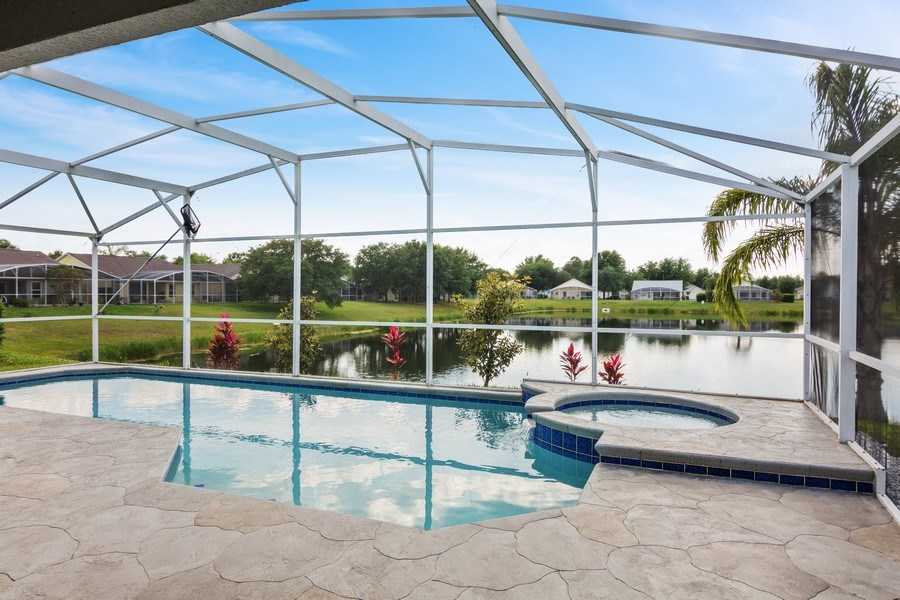 Real Estate Photography - 17407 woodcrest way, clermont, FL, 34714 - Pool