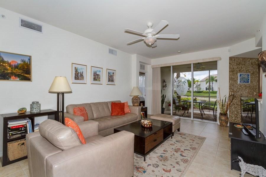 Real Estate Photography - 1380 Tiffany Ln, unit 2206, Naples, FL, 34105 - Living Room