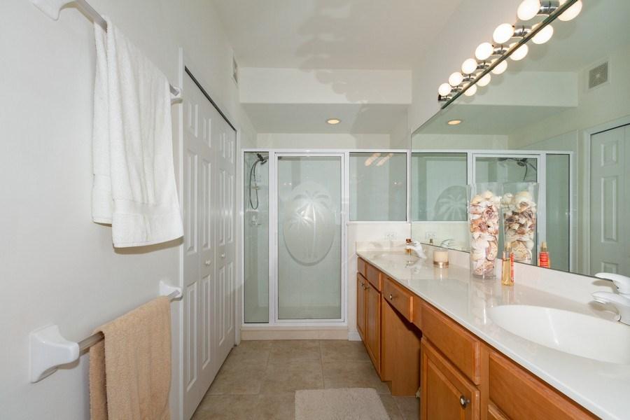 Real Estate Photography - 1380 Tiffany Ln, unit 2206, Naples, FL, 34105 - Master Bathroom