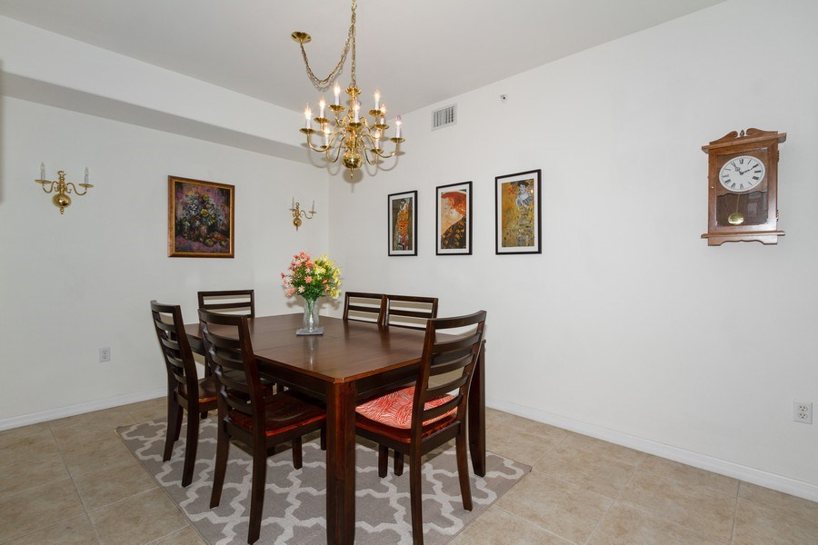 Real Estate Photography - 1380 Tiffany Ln, unit 2206, Naples, FL, 34105 - Dining Room