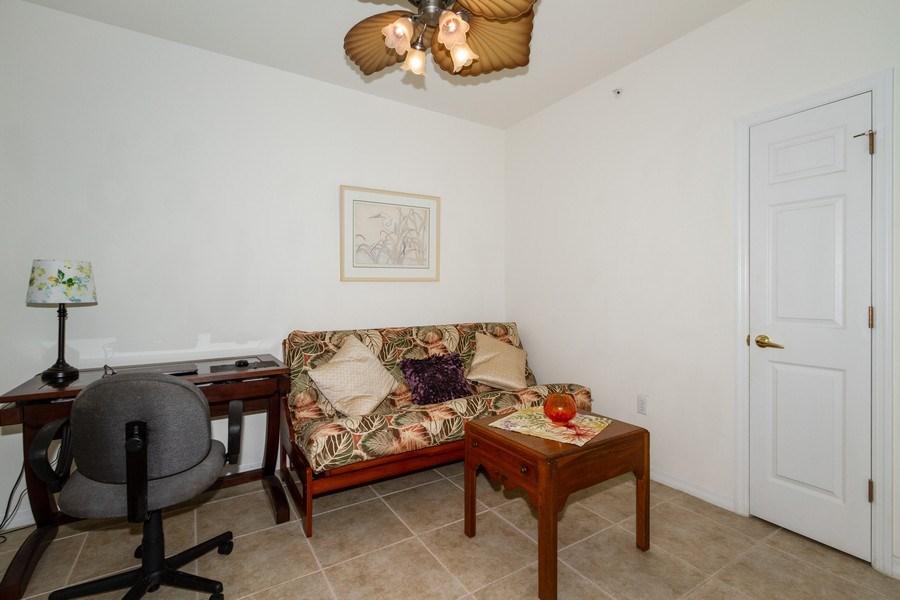 Real Estate Photography - 1380 Tiffany Ln, unit 2206, Naples, FL, 34105 - Den