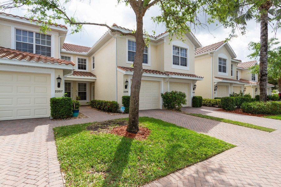 Real Estate Photography - 1380 Tiffany Ln, unit 2206, Naples, FL, 34105 - Front View