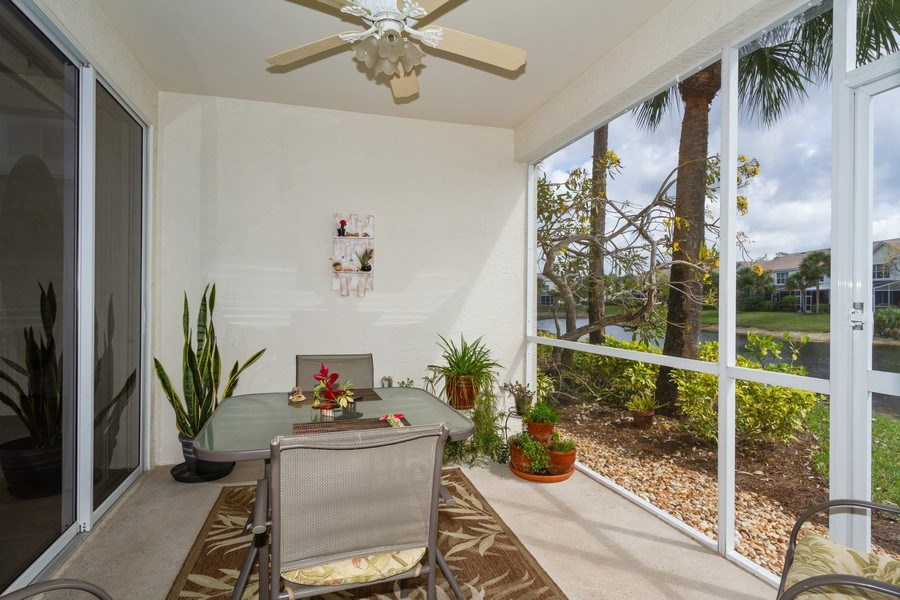 Real Estate Photography - 1380 Tiffany Ln, unit 2206, Naples, FL, 34105 - Lanai