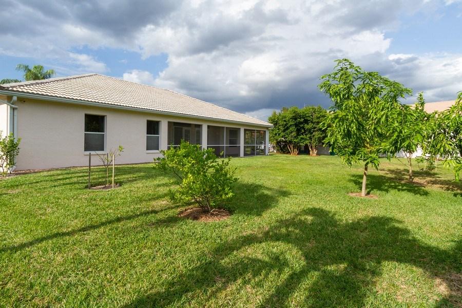 Real Estate Photography - 257 Lambton Ln, Naples, FL, 34104 - Back Yard