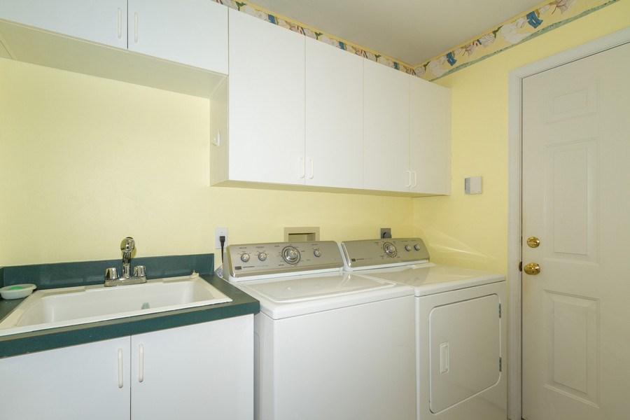 Real Estate Photography - 257 Lambton Ln, Naples, FL, 34104 - Laundry Room