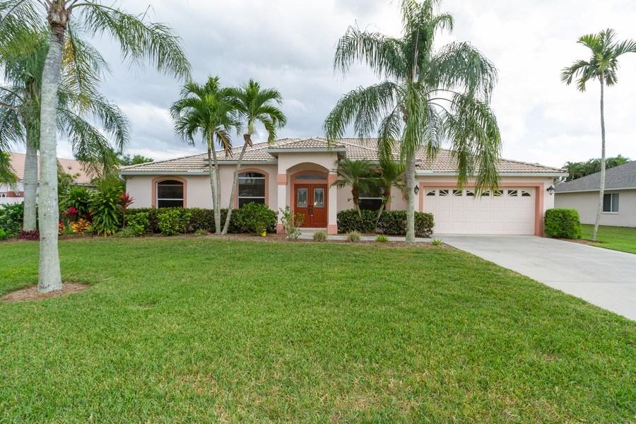 Real Estate Photography - 257 Lambton Ln, Naples, FL, 34104 - Front View