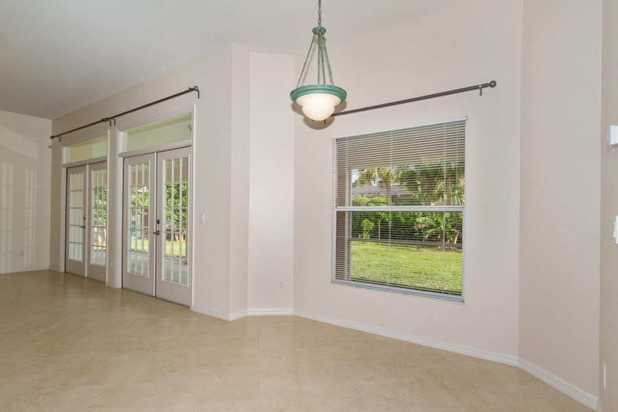 Real Estate Photography - 257 Lambton Ln, Naples, FL, 34104 - Breakfast Nook