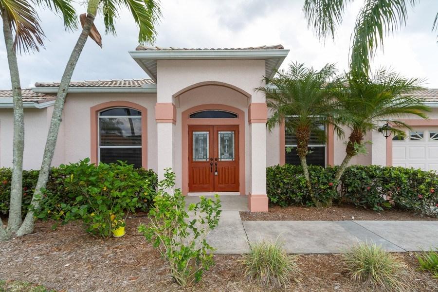 Real Estate Photography - 257 Lambton Ln, Naples, FL, 34104 - Entryway