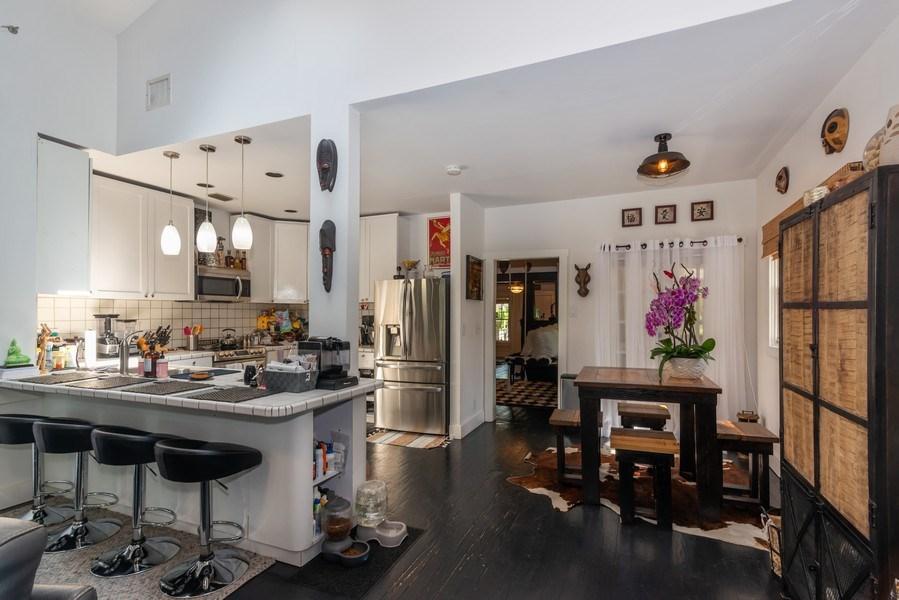Real Estate Photography - 940 NE 83rd St, Miami, FL, 33138 - Kitchen / Breakfast Room