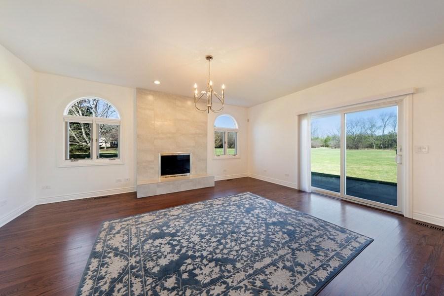 Real Estate Photography - 4 Ascot Lane, Barrington Hills, IL, 60010 - Family Room