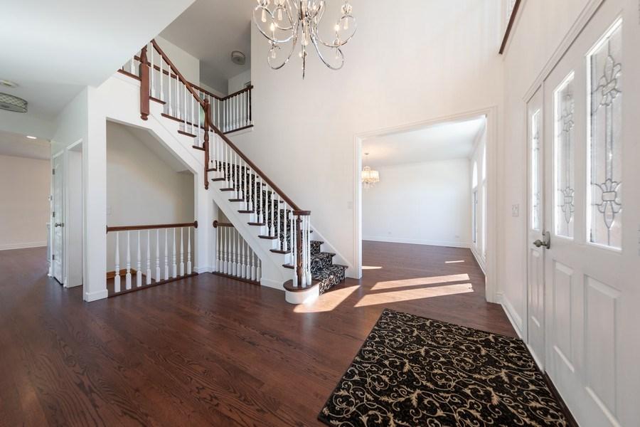 Real Estate Photography - 4 Ascot Lane, Barrington Hills, IL, 60010 - Foyer
