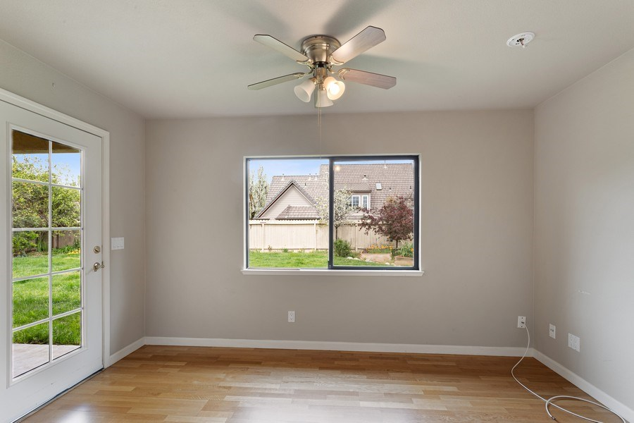 Real Estate Photography - 896 Ridgeview Dr, Woodland, CA, 95695 - Sitting Room off Master Bedroom