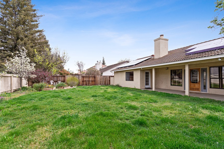 Real Estate Photography - 896 Ridgeview Dr, Woodland, CA, 95695 - Back Yard
