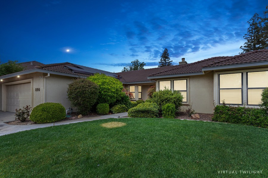 Real Estate Photography - 896 Ridgeview Dr, Woodland, CA, 95695 - Front View