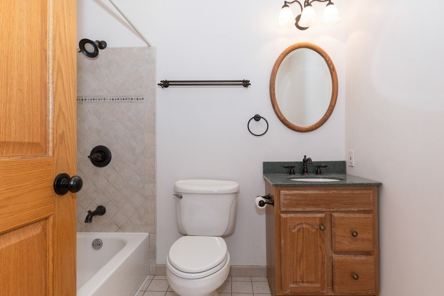 Real Estate Photography - 1410 S. Robert Drive, Mount Prospect, IL, 60056 - Bathroom