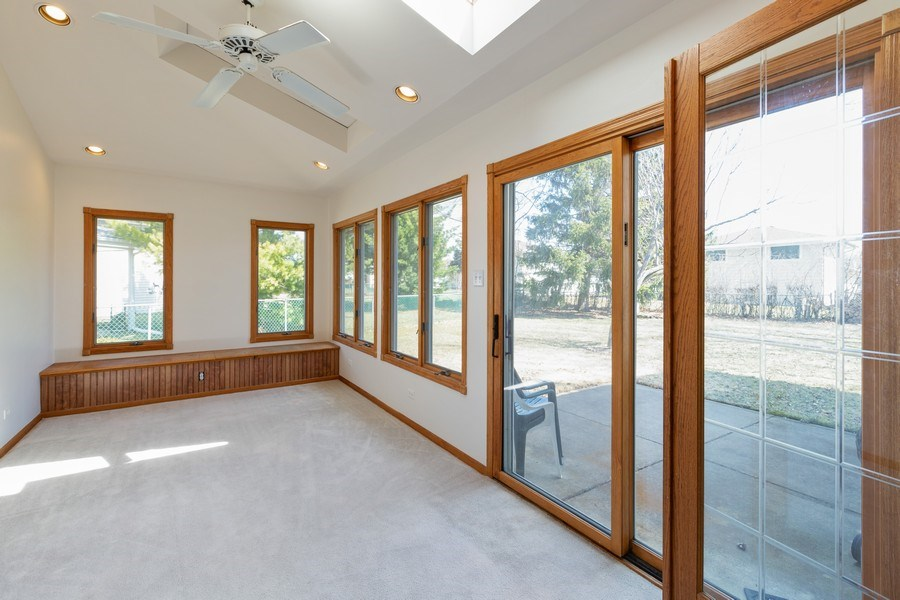 Real Estate Photography - 2123NorthHaig ct, palatine, IL, 60074 - Sun Room