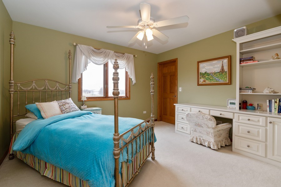 Real Estate Photography - 24410 S. Pine Ridge Drive, Monee, IL, 60449 - 2nd Bedroom