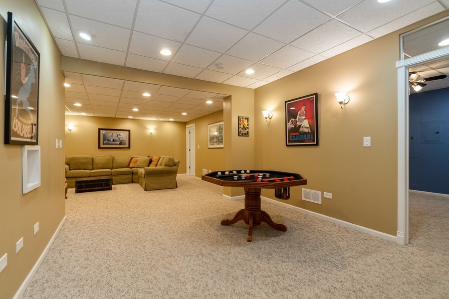 Real Estate Photography - 24410 S. Pine Ridge Drive, Monee, IL, 60449 - Lower Level